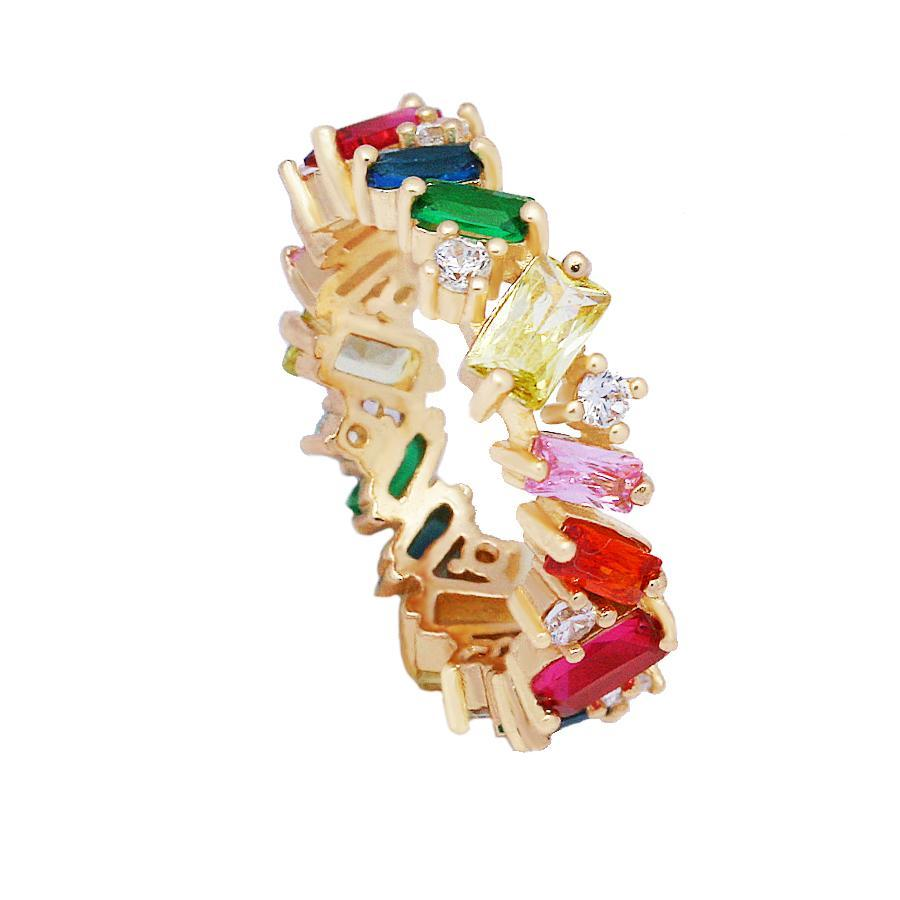 Adorned Ring Rainbow - House of Carats