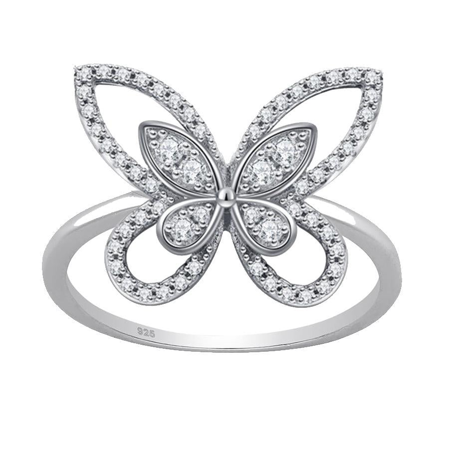 Butterfly Dream Ring - House of Carats