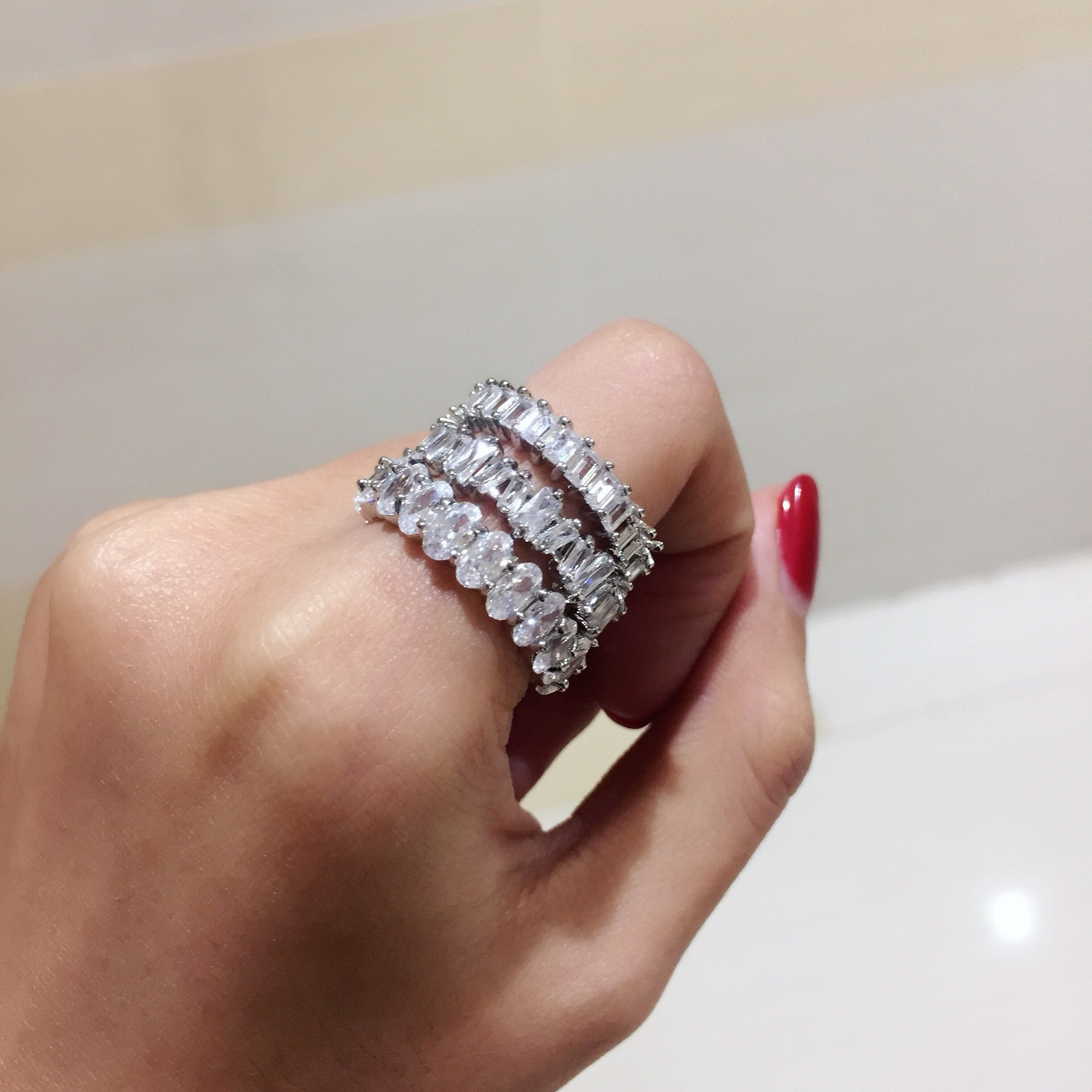Kensington Ring Silver - House of Carats