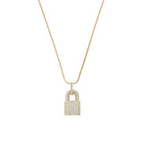 Icy Lock Necklace - House of Carats