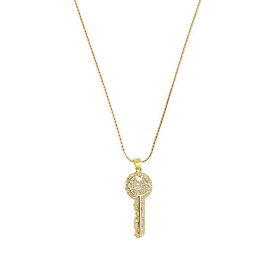 Key Charm Necklace - House of Carats