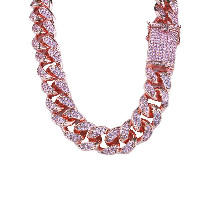 Pink Cuban Chain - House of Carats