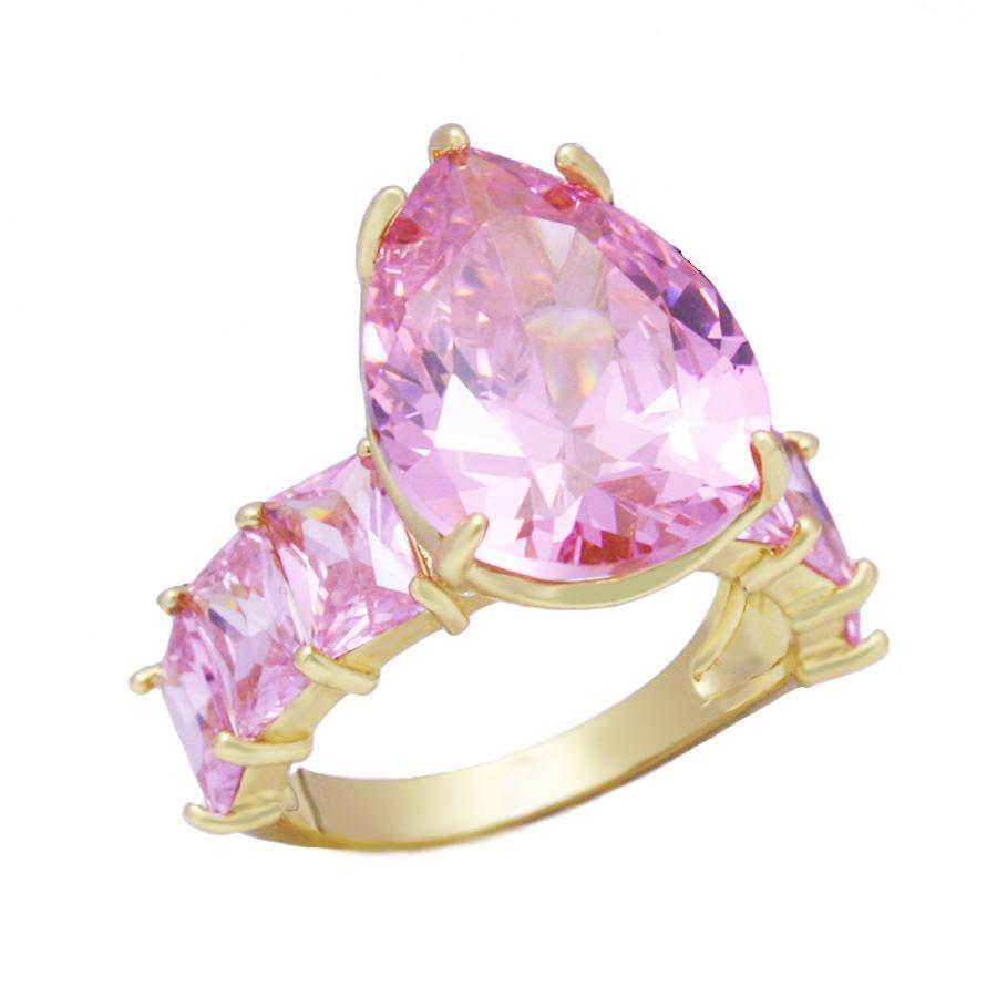 Serena Ring Pink - House of Carats
