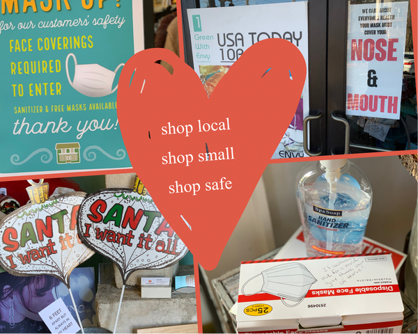 Shopping Local and Small is Safer than Ever