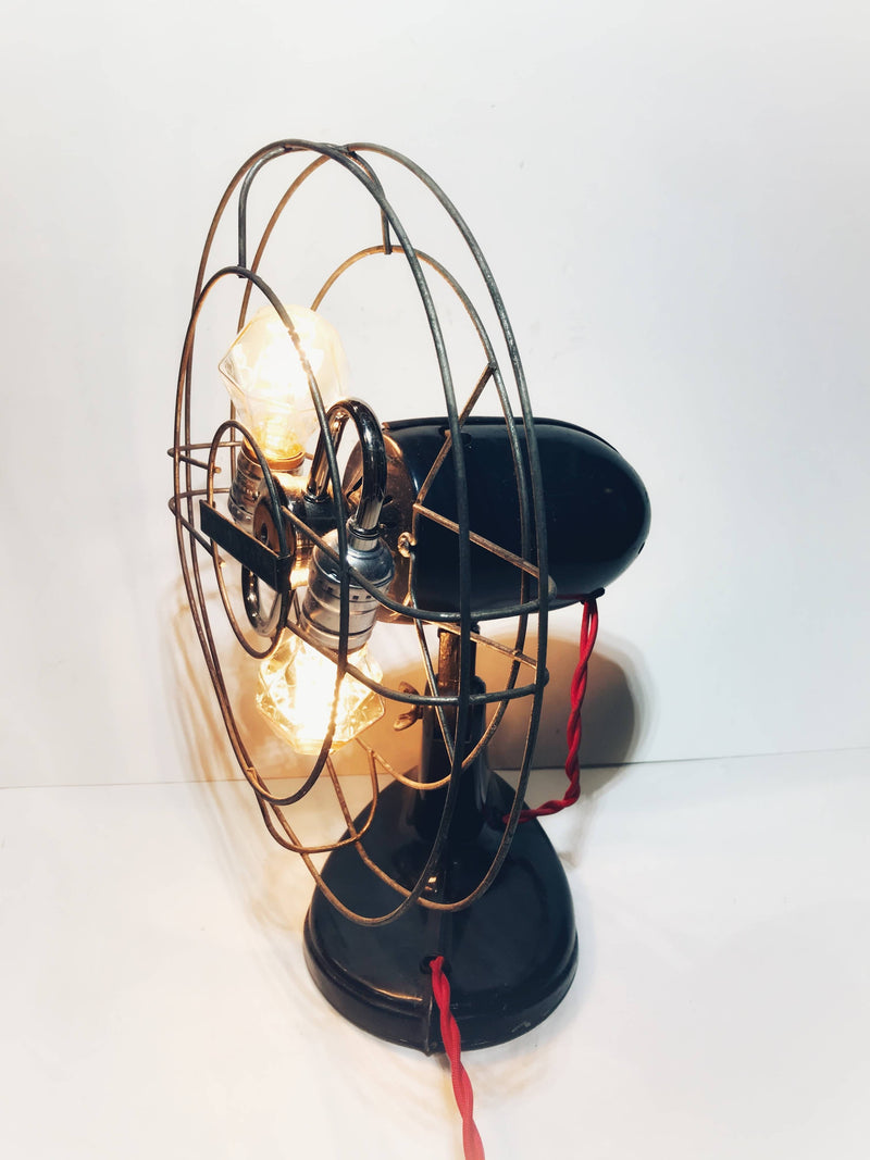 "13"" Repurposed Robbins & Myers Fan into a lamp"