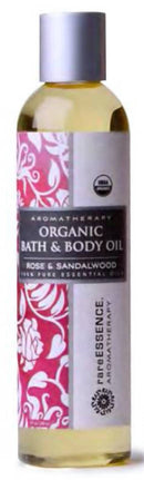 Rare Essence body Oil, Rose and Sandalwood