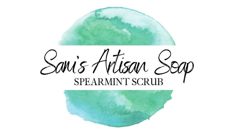 Spearmint Scrub Handmade Soap