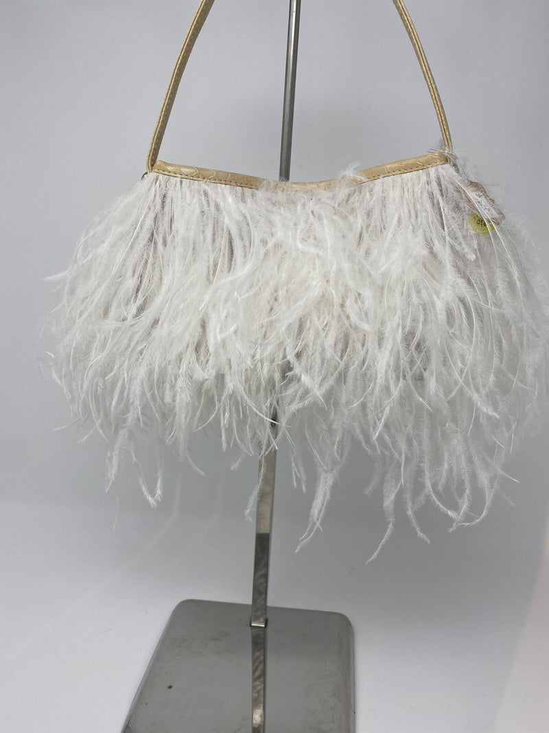 Ostrich Feather Purse