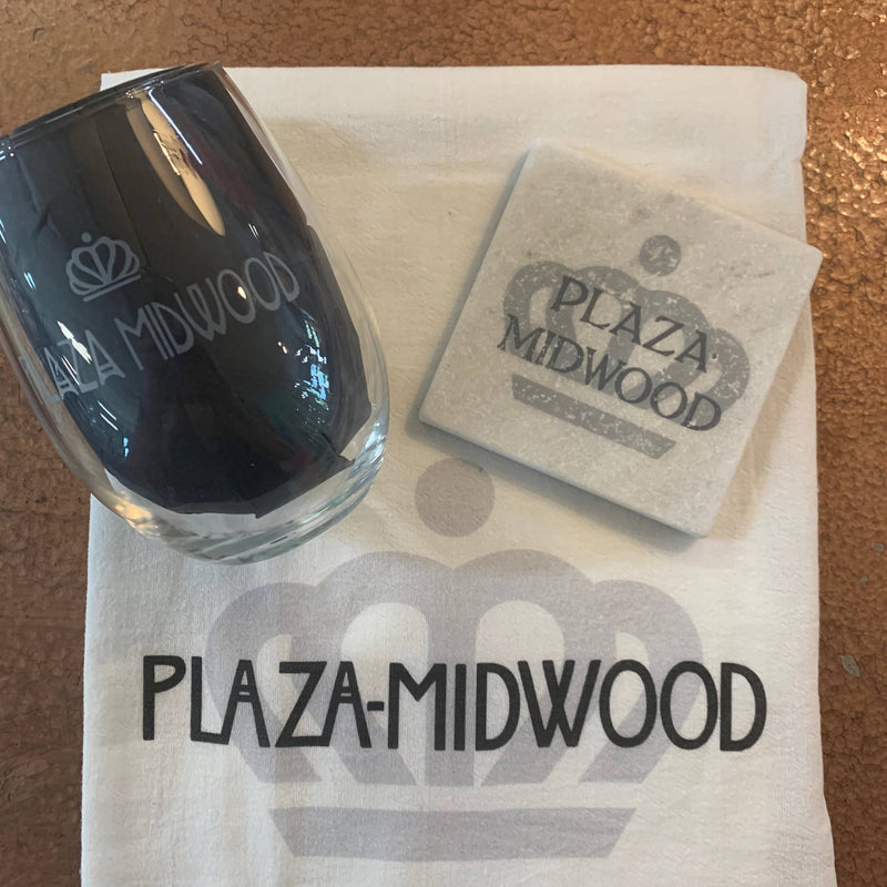 Plaza Midwood Wine Glass