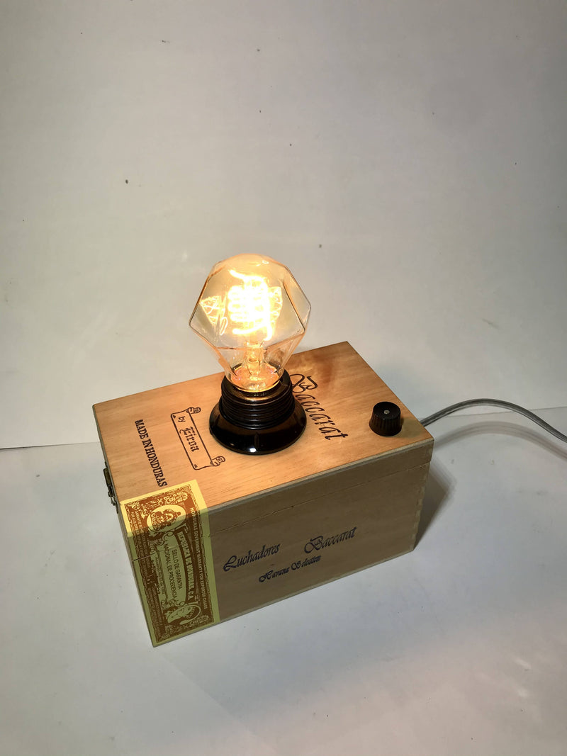 Repurposed Upcycled Cigar Box Light
