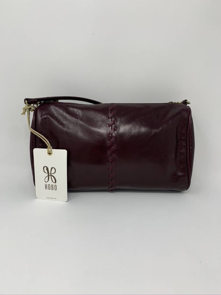 Hobo Topaz Deep Plum Genuine Leather Bag