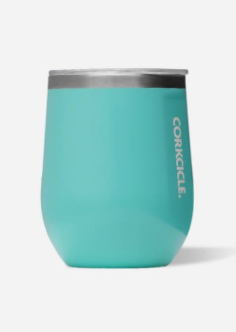 Stemless Corkcicle, Turquoise