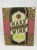 Simple and Tasty Make Your Own Wine Kit