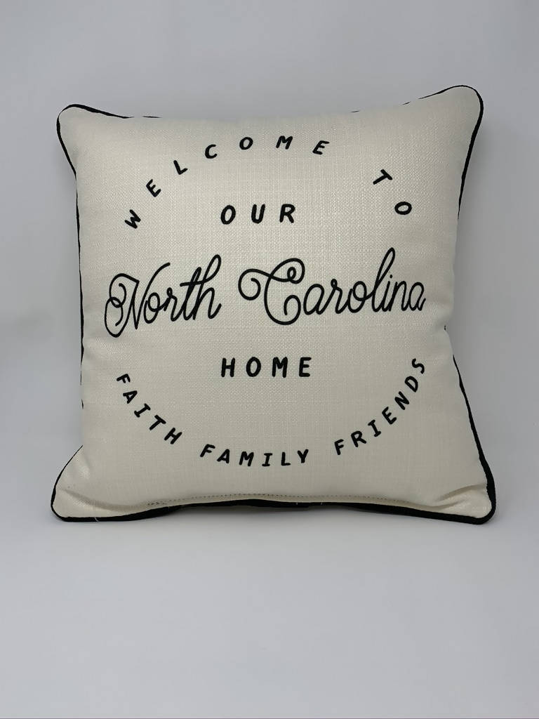 Little Birdie North Carolina Pillow
