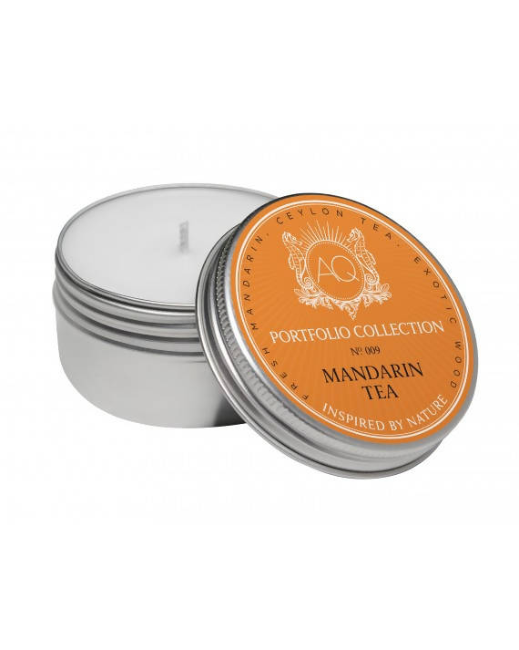 Aquiesse Mandarine Tea Travel Tin Candle