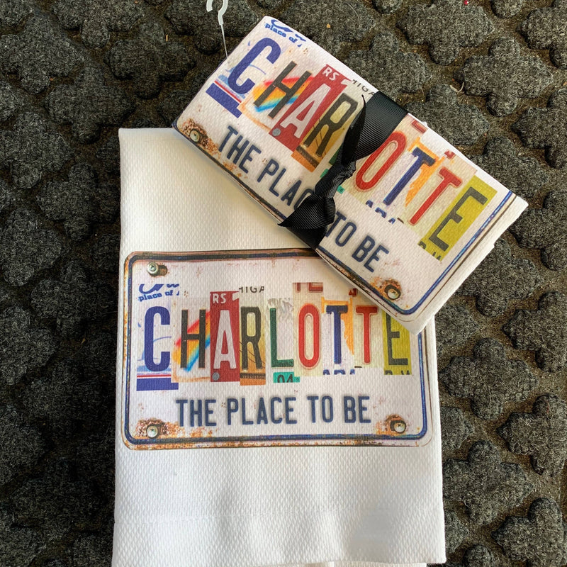The Place to Be Charlotte Towel