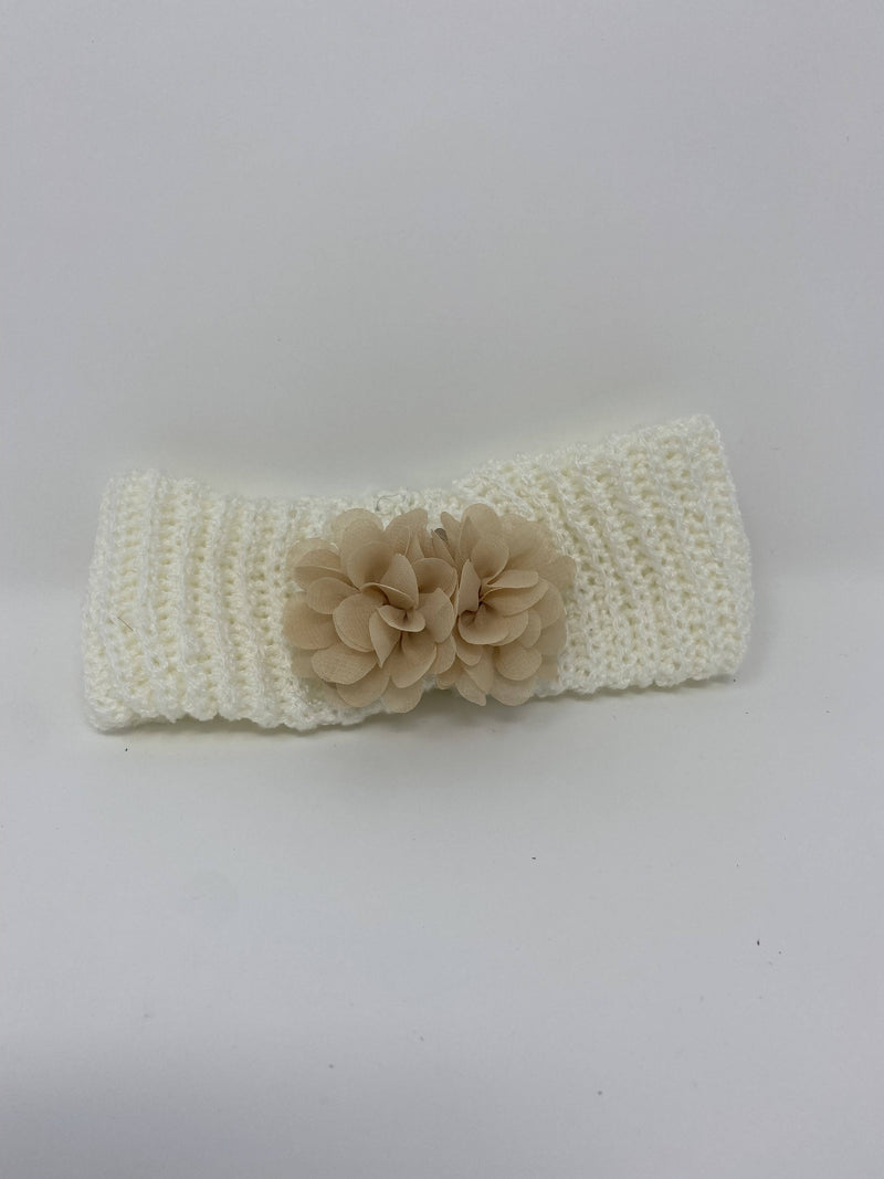 Bean & Dot White Headband