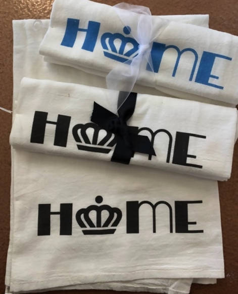 Blue Home/Charlotte Crown Towel