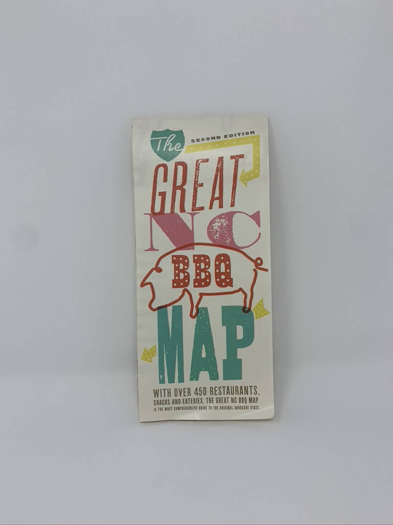 The Great North Carolina BBQ Map