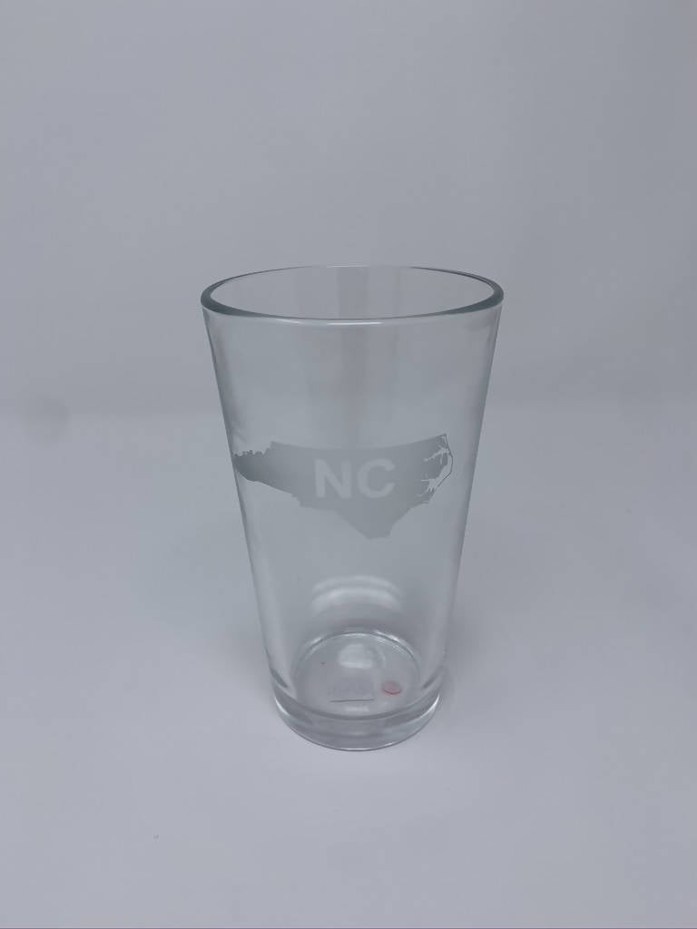 State of NC Graphic Pint Glasses