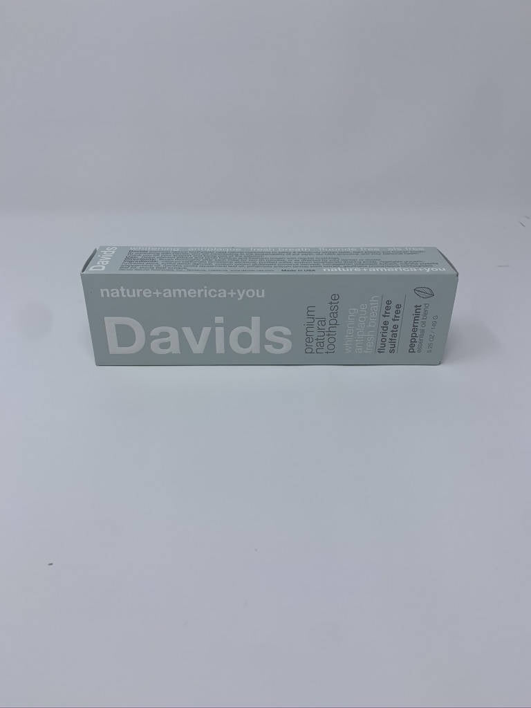 Davids Peppermint Premium Natural Toothpaste