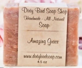 Dirty Bird Soap, Amazing Grace