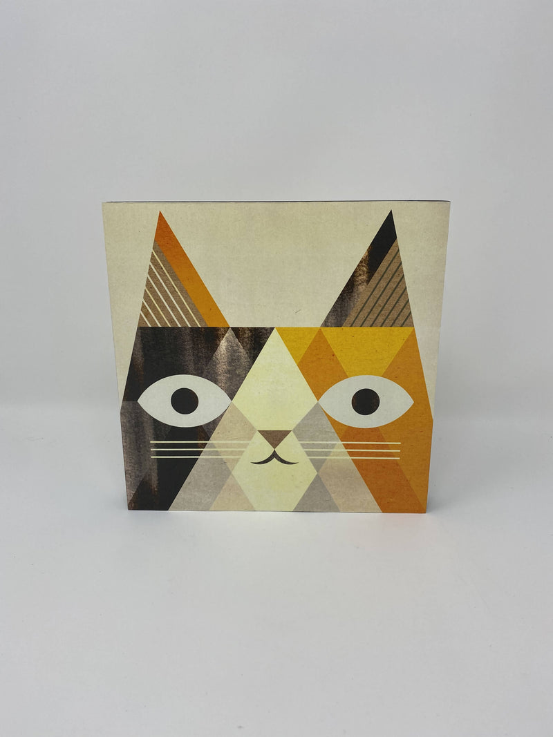 Abstract Cat Print