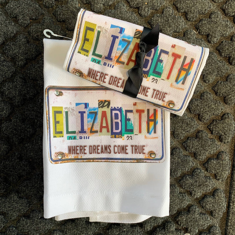 Where Dreams Come True Elizabeth Towel