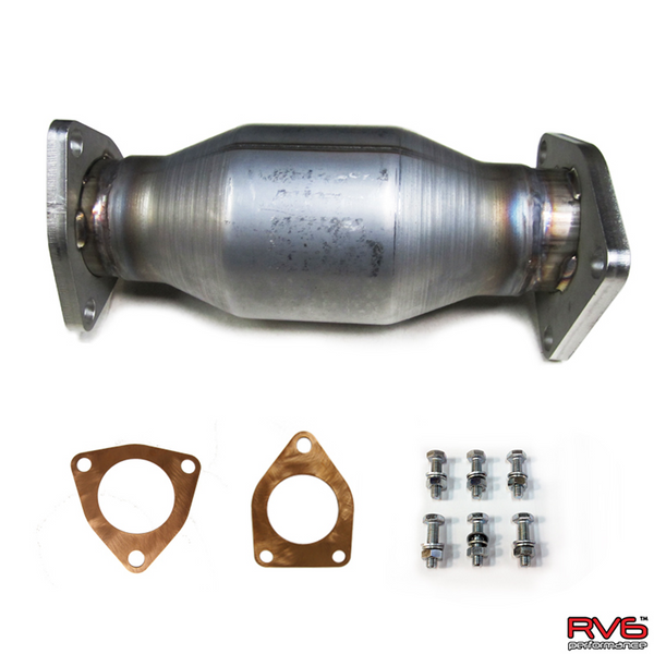 RV6 High Flow Cat Kit for 08-12 Accord I4 (2.4L)