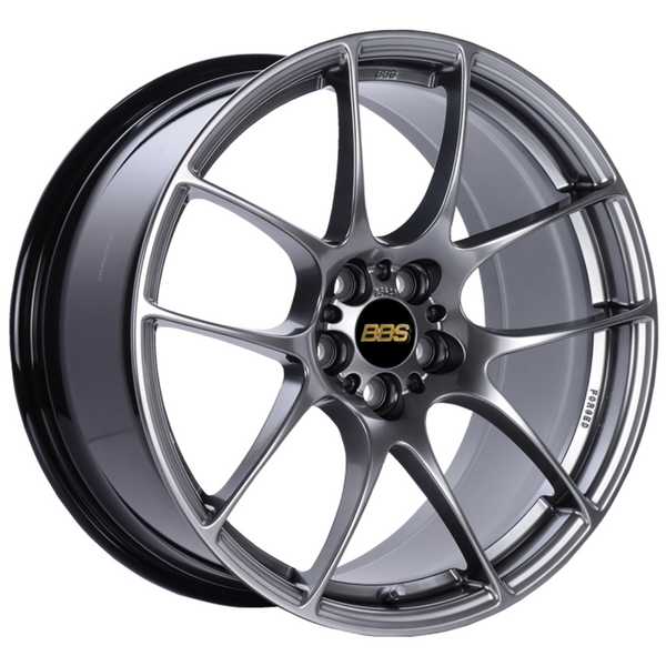 BBS RF 18x9 5x100 ET45 Diamond Black Wheel