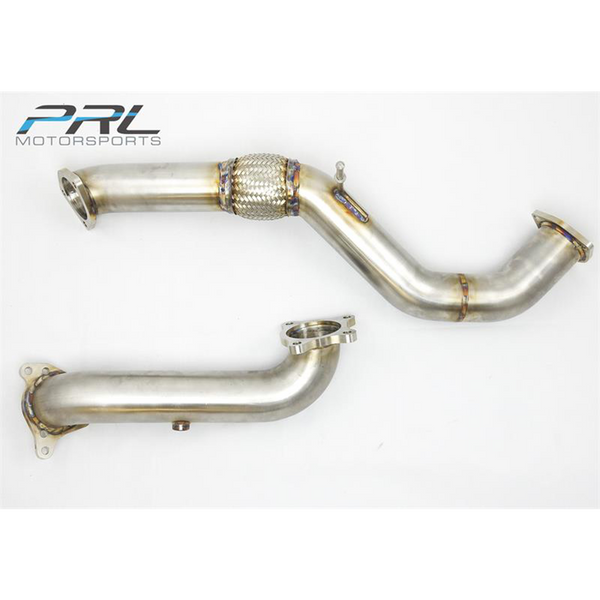 "PRL 2016+ Civic X 1.5T 3"" Downpipe / Front Pipe Combo"