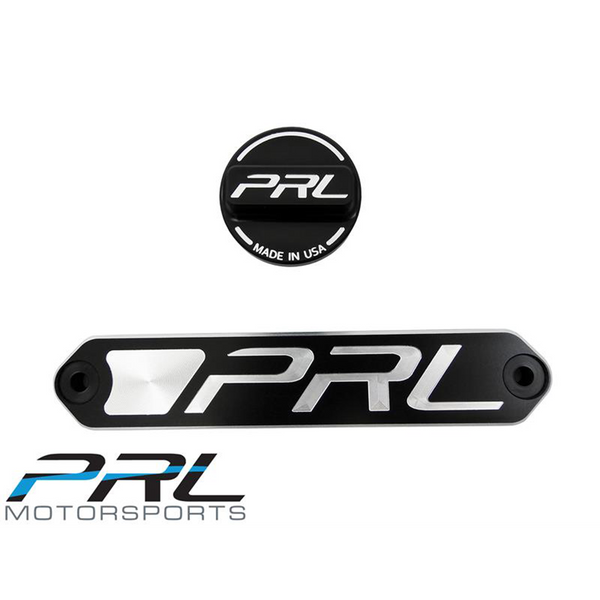 PRL 2016+ Civic Billet Battery Tie Down and Oil Cap