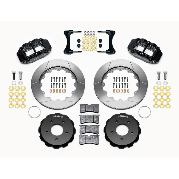 Wilwood Narrow Superlite 4R Front Hat Kit 14.00in 2007-Up Jeep Wrangler