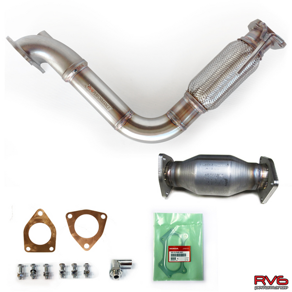 RV6 PCD / Downpipe & High Flow Cat Combo 08-12 Accord I4 (2.4L)