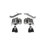 "Corsa 16-18 Cadillac ATS-V 3.6L V6 Turbo 3.0"" Dual Rear Exit Axle-Back Exhaust System with Twin 4.0"" Tips"