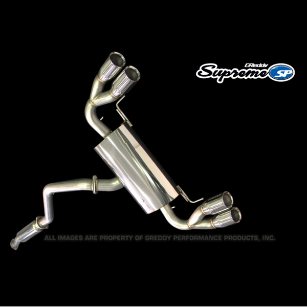 GReddy 09-14 Subaru STI Hatchback Supreme SP Exhaust