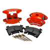 Wilwood D154 Rear Caliper Kit - Red 1.12 / 1.12in Piston 1.04in Rotor