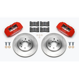 Wilwood DPHA Front Caliper & Rotor Kit Drilled Honda / Acura w/ 262mm OE Rotor