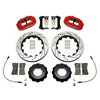Wilwood Narrow Superlite Red 6R Front Kit 14in Drilled Rotor w/ Lines 05-15 Toyota Tacoma