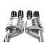 Akrapovic 06-13 Chevrolet Corvette ZO6/ZR1 (C6) Slip-On Line (SS)