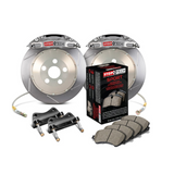 StopTech 00-05 Honda S2000 ST-41 Trophy Sport Calipers 345x28mm Slotted Rotors Rear Big Brake Kit