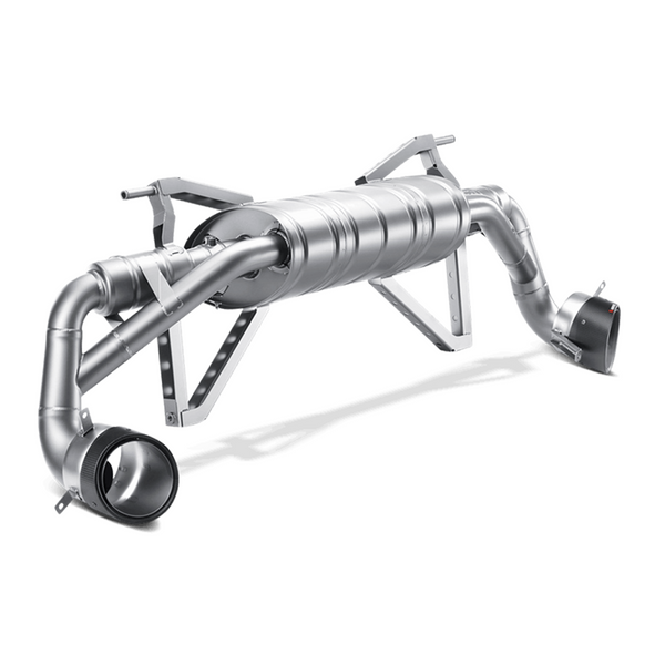 Akrapovic 13-15 Audi R8 5.2 FSI Coupe/Spyder Slip-On Line (Titanium) w/ Carbon Tips
