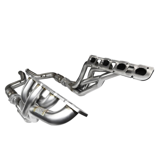 Kooks 06-15 Dodge Charger SRT8 1 7/8in x 3in SS Headers w/ Catted SS Connection Pipes