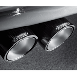 Akrapovic 11-12 BMW 1 Series M Coupe (E82) Slip-On Line (Titanium)