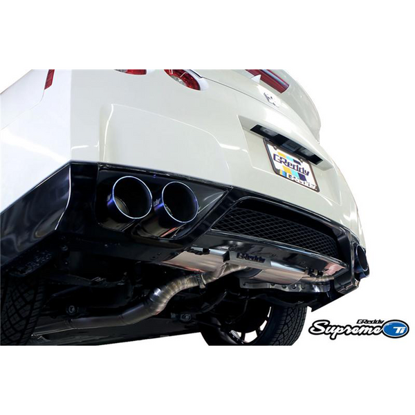 GReddy 09-14 Nissan GT-R R35 VR38DETT Supreme Titanium Y-Back Exhaust (94mm)