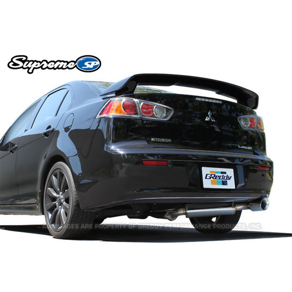 GReddy 08-11 Mitsubishi Lancer GTS Supreme Axle Back Exhaust