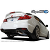 GReddy 12-15 Honda Civic Si Coupe 76mm Supreme SP Cat-Back Exhaust