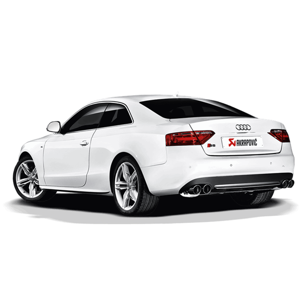 Akrapovic 07-11 Audi S5 Coupe (8T) Slip-On Line (SS) w/ Titanium Tips