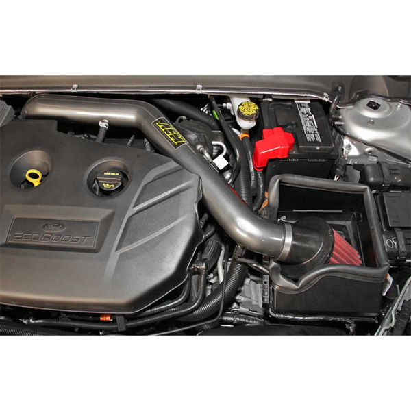 AEM 14-15 Ford Fusion 2.0L L4 Turbo - Cold Air Intake System - Gunmetal Gray