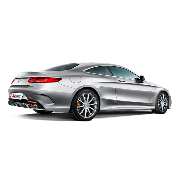 Akrapovic 15-17 AMG S63 Coupe (C127) Evolution Line Titanium Cat Back w/ Carbon Tips (Req Link Pipe)